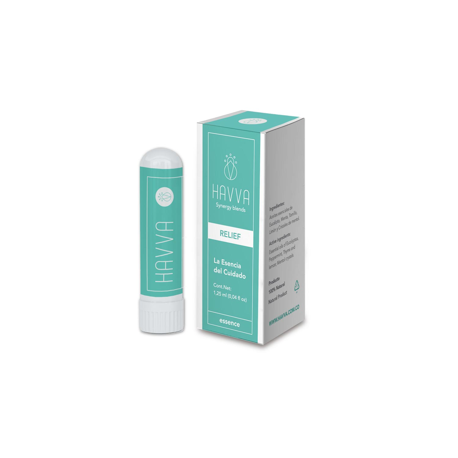 Natural nasal inhaler relief