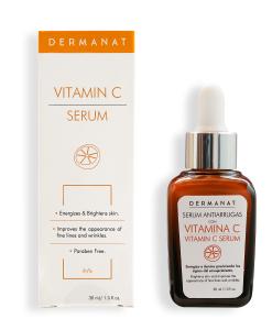 Dermanat, Vitamin C Serum, Organic Silicium, Olive Oil, Paraben Free