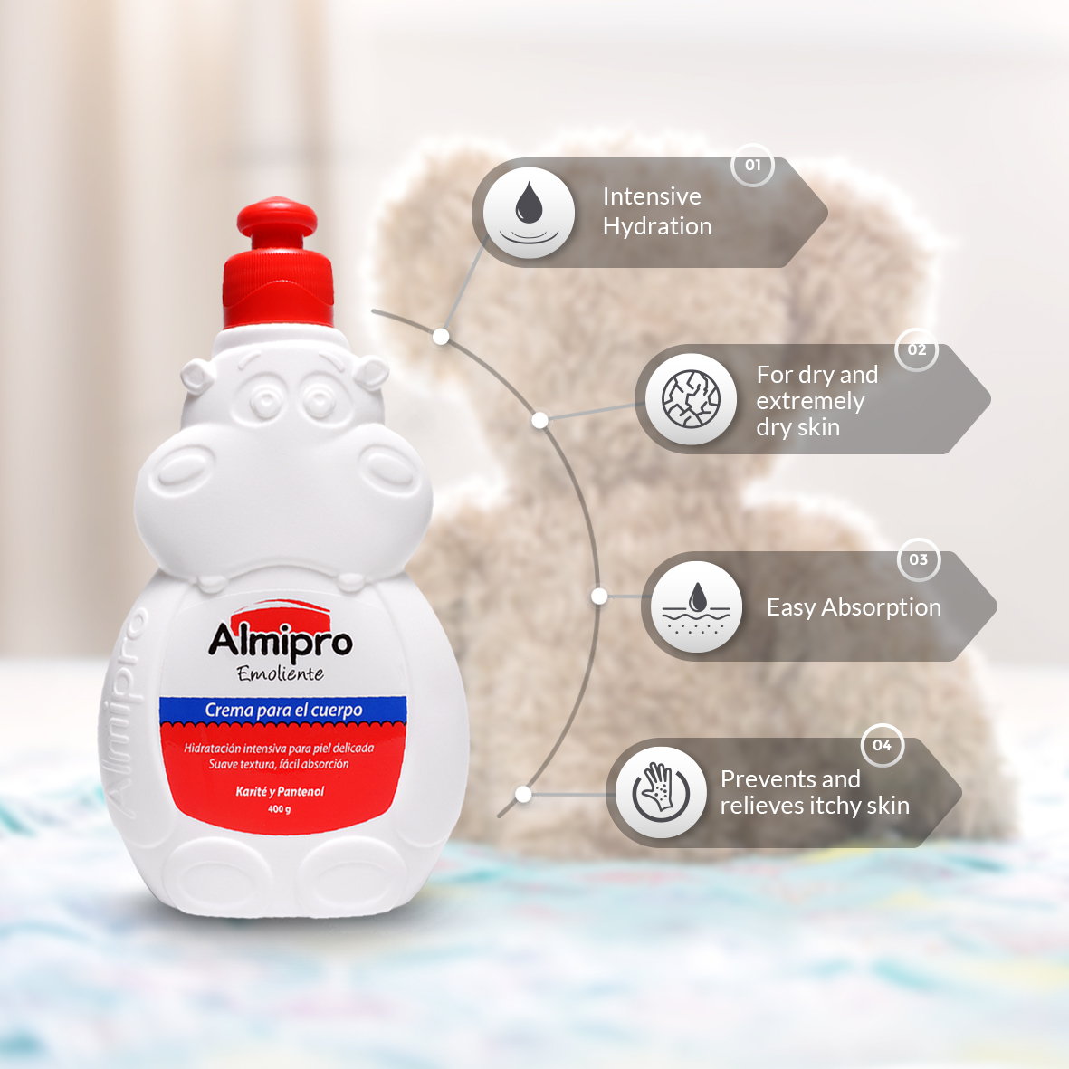 Almipro Baby Daily Moisture Lotion